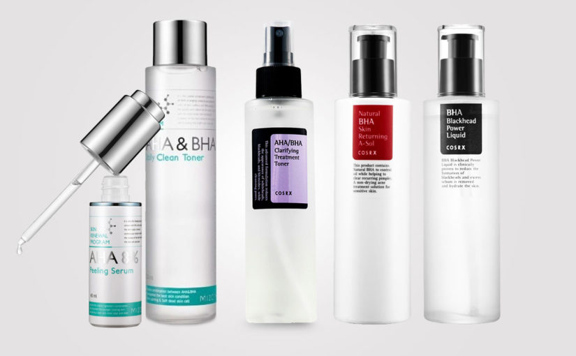 AHA and BHA Korean skin care, a miracle cure?