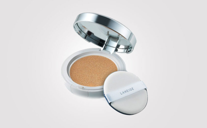 Cushion foundation. Old news i Korea