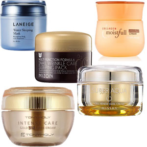 Research in Korean skin care products, what to buy from Korea? K-beauty Europe. Moisturizer cream.