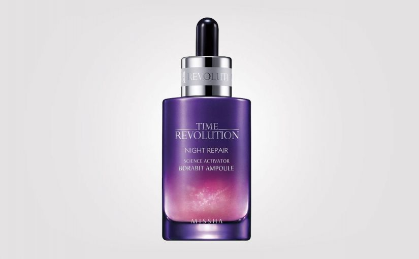 FIRST IMPRESSION: Missha Time Revolution Night Repair ampoule. K-beauty Europe