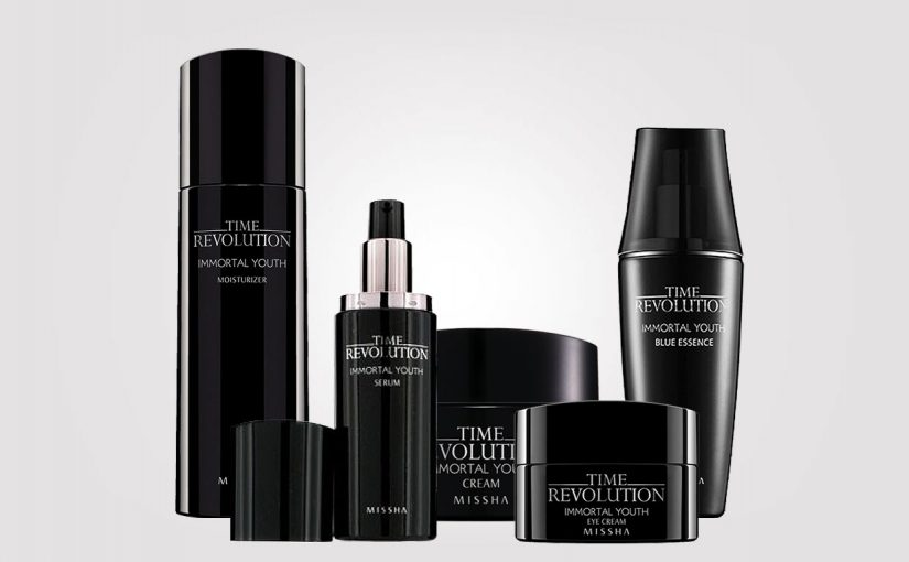 Korean Missha Time revolution Immortal Youth line