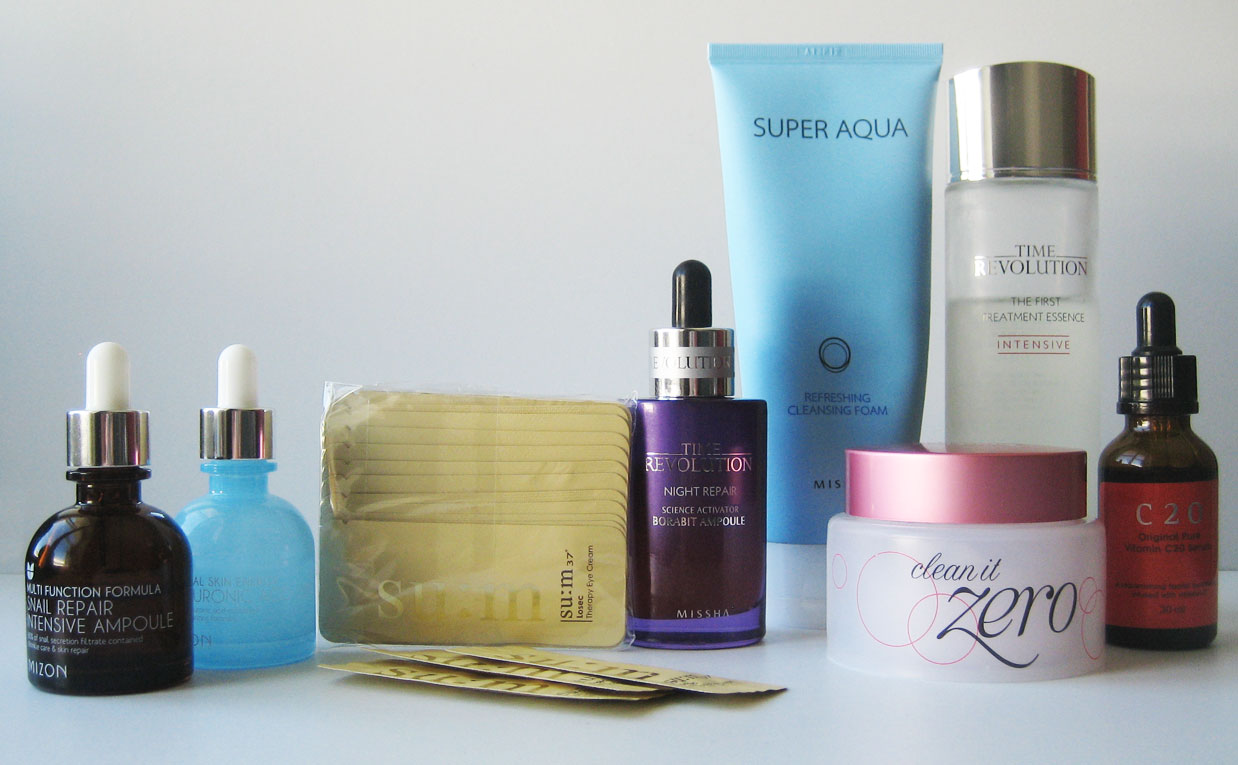 Korean skincare blog combination skin