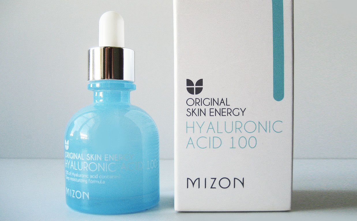 Korean Mizon Hyaluronic acid 100 serum for my mother in law. K-beauty Europe