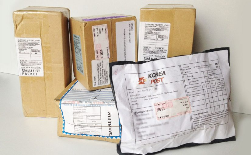 Packages from Korea, more unboxing videos!