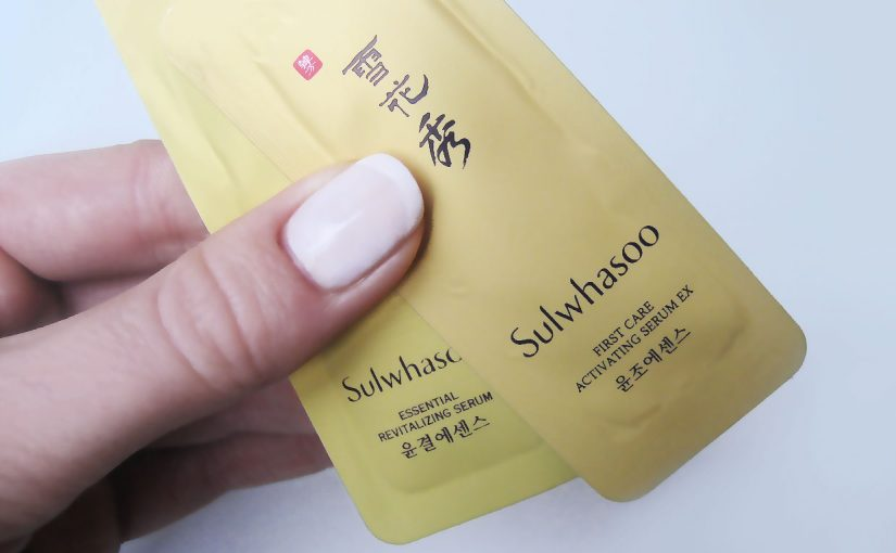 2 different serums or the same serum? Sulwhasoo Essential Revitalizing Serum