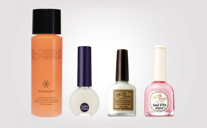 New order from Korea. Korean nail polish & nail polish remover