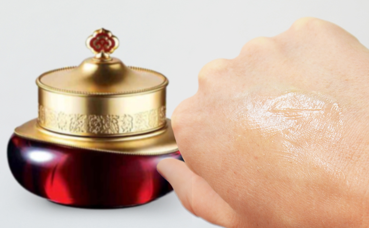 Review The History of Whoo Jinyul Cream face cream from Korea anti-age wrinkles mature skin K-beauty Blog Europe