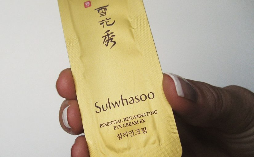 Tomorrow a review on Sulwhasoo Essential Rejuvenating Eye Cream EX