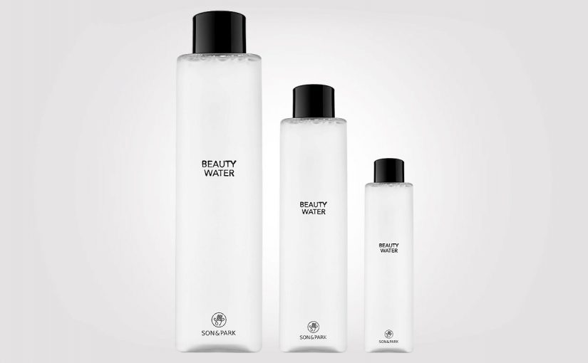 Korean toner Son & Park Beauty Water available in several sizes & prices