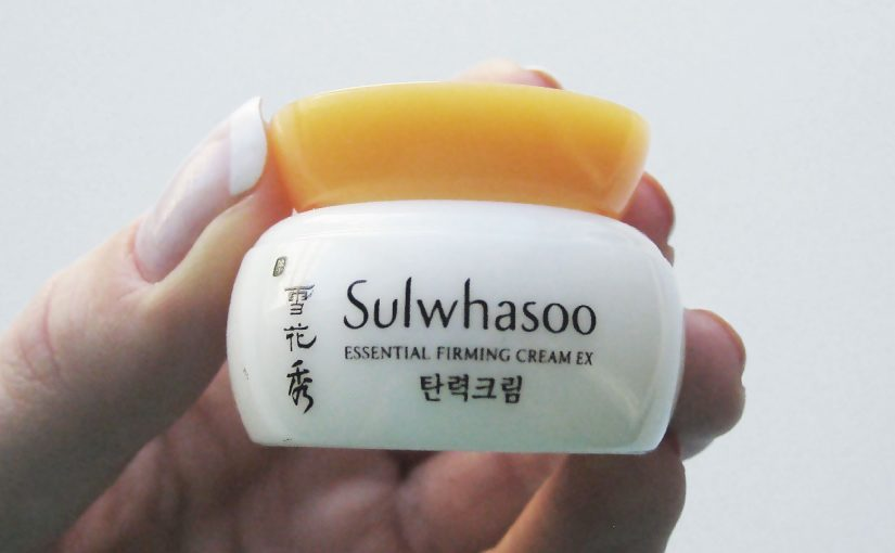 Soon a review of Korean face cream Sulwhasoo Essential Firming Cream EX