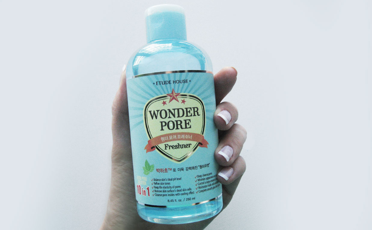 Etude House Wonder Pore Freshner Toner 10 In 1 Daftar Harga 500 Ml Best Korean Treating Pores Acne