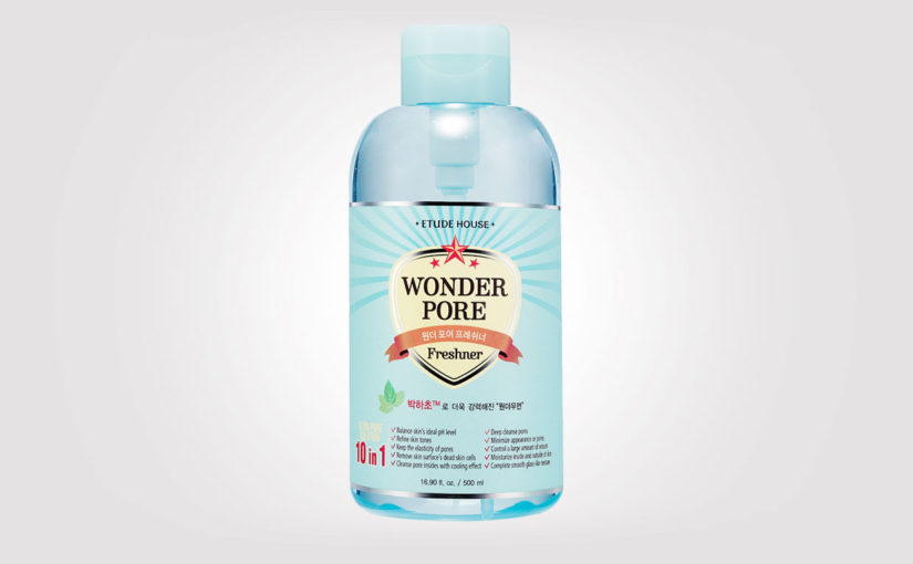 FIRST IMPRESSION review Etude House Wonder Pore Freshner 10 in 1 Korean skin care from Korea K-beauty Europe