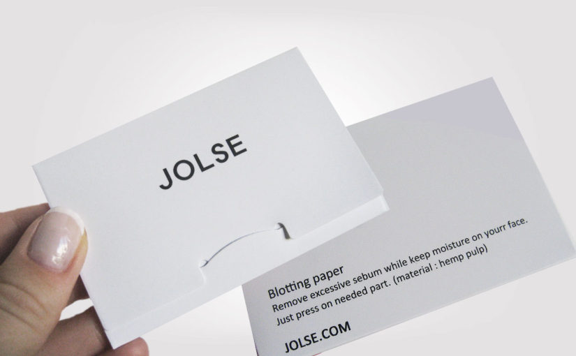 Review on Jolse Blotting Paper from Korea