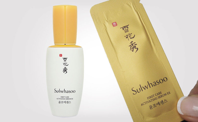 Sulwhasoo First Care Activating Serum EX video review