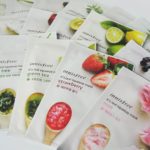 All these sheet masks from Korea. Innisfree It's Real Squeeze Mask 16pcs!