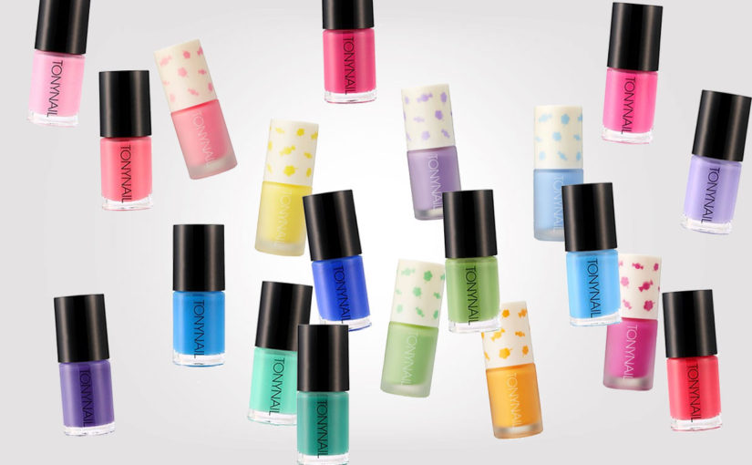 Curious to order and test some hand cream & nail polish from Korea