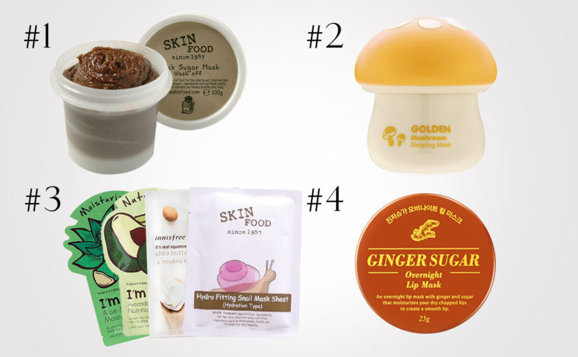 Top 4 best korean skincare products for dry skin. Korean skin care faves K-beauty Europe