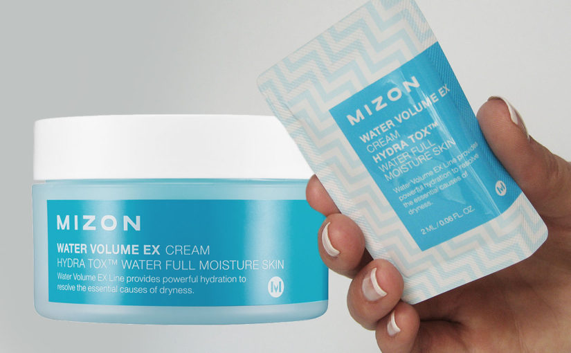 Video review on Mizon Water Volume EX Cream from Korea!