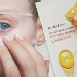 I'm testing Innisfree It's Real Squeeze Mask Manuka Honey from Korea