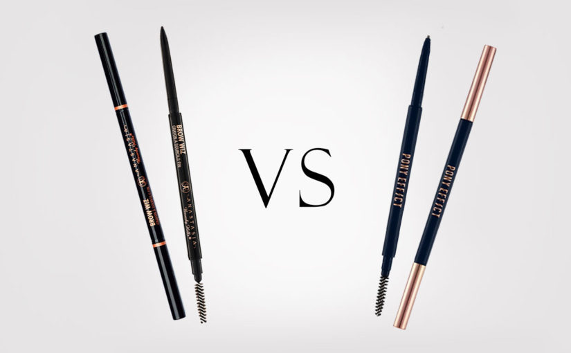 Anastasia Beverly Hills Brow Wiz dupe Pony Effect Sharping Brow Definer eyebrow pencil from Korea