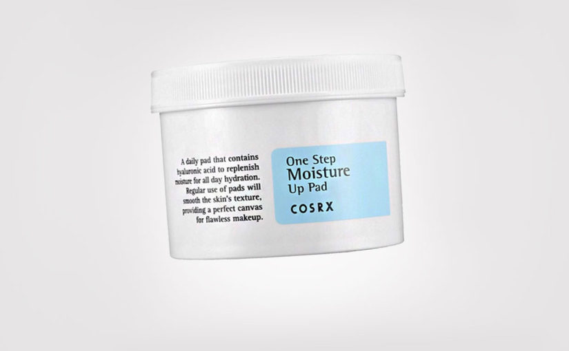 COSRX One Step Moisture Up Pads, a new product from korean brand COSRX