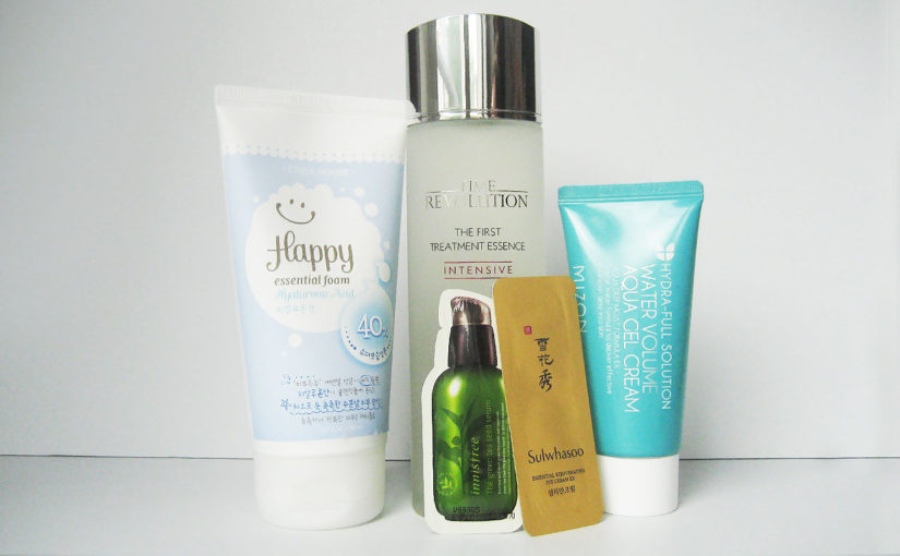 My current Korean skin care routine morning, only products from Korea