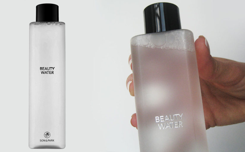Video review on Son & Park Beauty Water toner from Korea