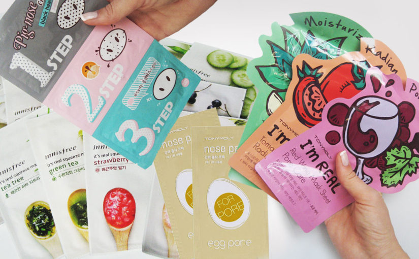4 top best cheap affordable korean face masks on Ebay. Sheet mask, nose mask, pore mask & blackheads Korean skin care K-beauty Europe