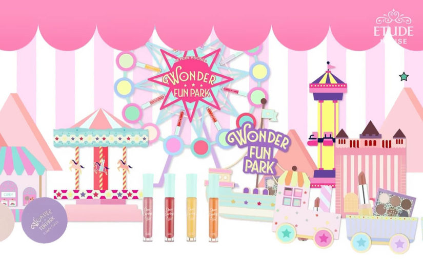 Etude House Wonder Fun Park Collection, so cute!