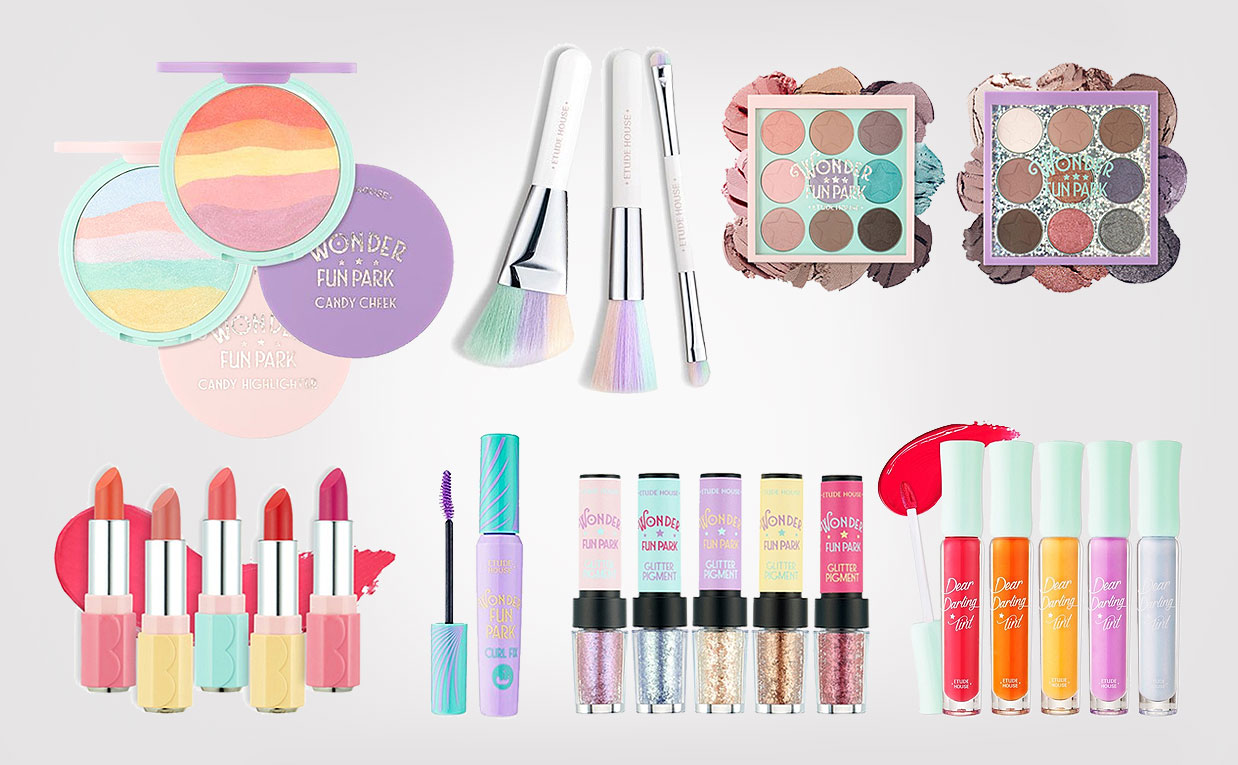 Etude House Wonder Fun Park Collection is so cute 원더펀파크 ...