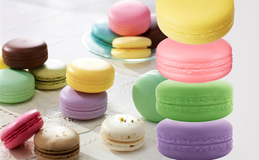 Have you seen korean brand It's Skin Macaron Lipbalms? OMG they're so cute ♥
