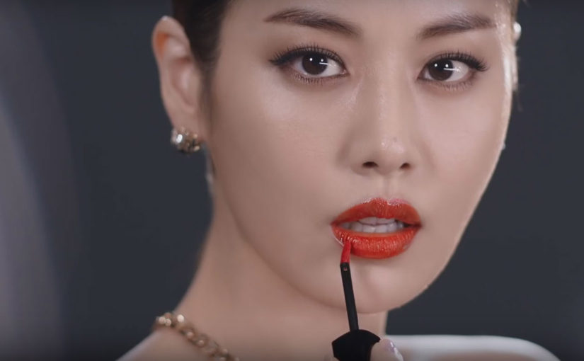 Korean brand Missha launches a new lip tint, Glam Enamel Tint / 미샤 글램 에나멜 틴트