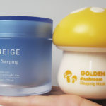I prefer TonyMoly Magic Food Golden Mushroom Sleeping Mask over Laneige Water Sleeping Mask