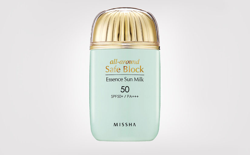 FIRST IMPRESSION: Missha All-around Safe Block Essence Sun Milk SPF50 PA+++