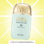PRODUCT OF THE MONTH: Missha All-around Safe Block Essence Sun Milk SPF50 PA+++