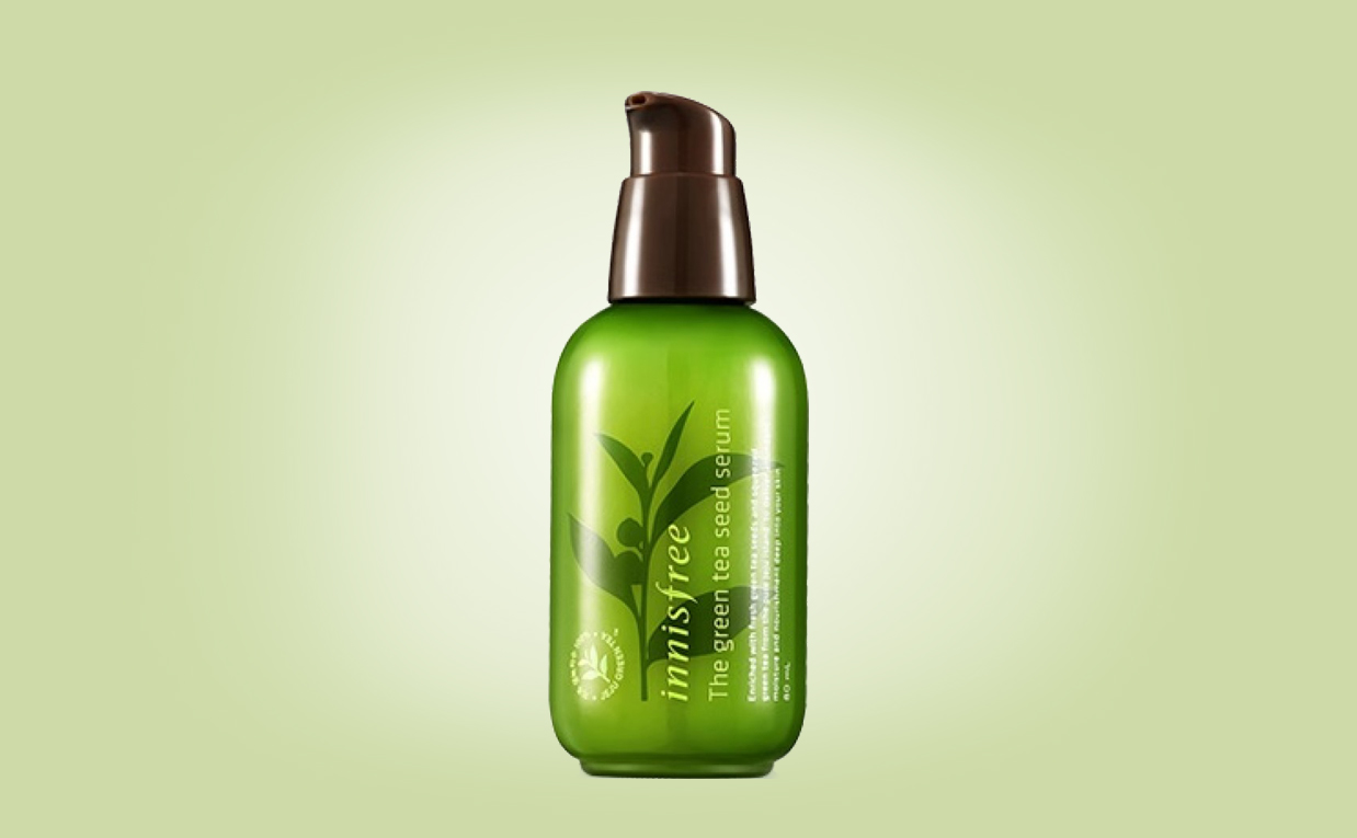 Innisfree The Green Tea Seed Serum Buy online webshop cheap price Korean skin care K-beauty Europe