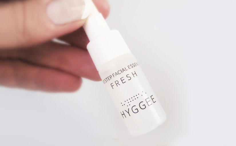 Tomorrow a review on HYGGEE One Step Facial Essence Fresh from Korea