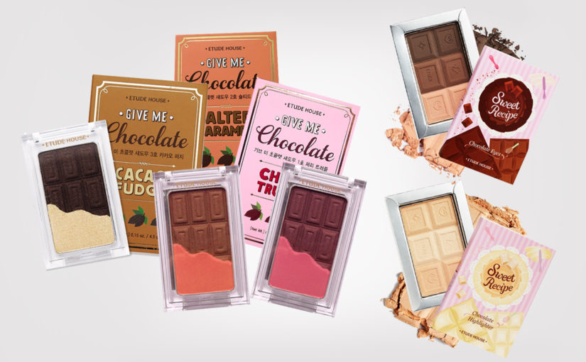 Etude House Give Me Chocolate Eye Shadow & Sweet Recipe Collection from Korea