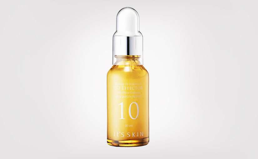 First impression review It's Skin Power 10 Formula CO Effector serum from Korea Korean skin care K-beauty Europe