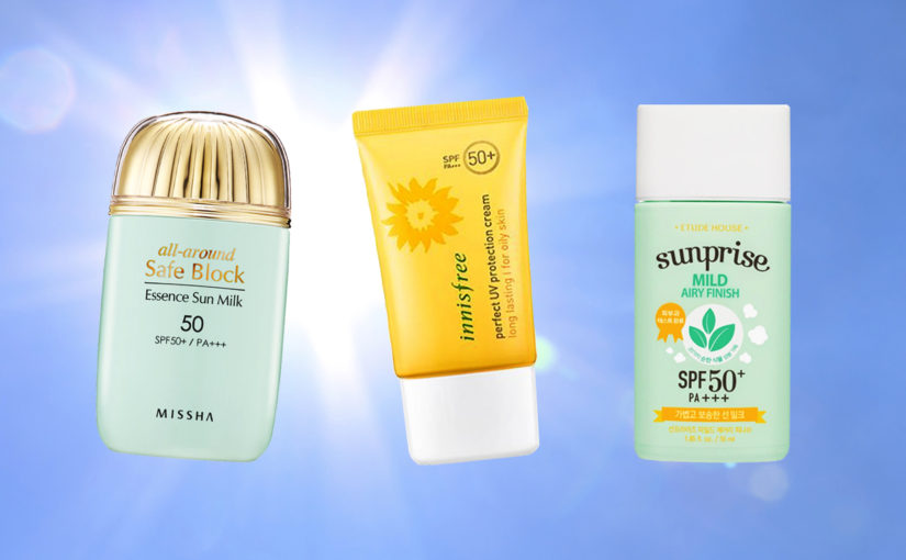 Top best and affordable Korean sunscreens High SPF korean skin care K-beauty Europe