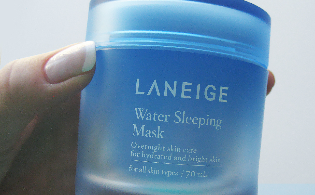 Laneige Water Sleeping Mask & Lip Sleeping Mask from Korea. Korean skin care K-beauty Europe