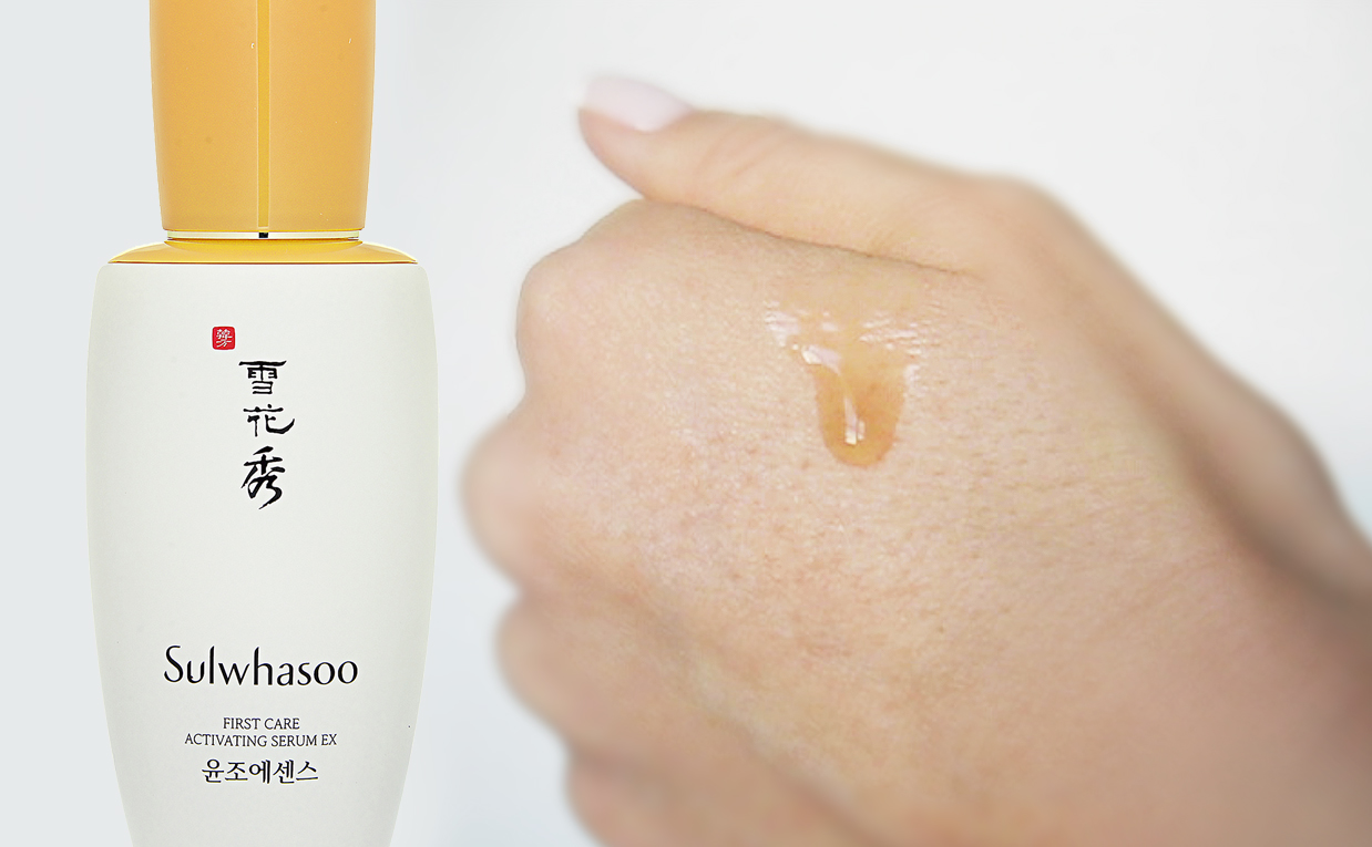 Review Sulwhasoo First Care Activating Serum EX from Korea. Korean skin care K-beauty Europe