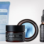 Klairs Midnight Blue Youth Activating Drop Serum and the blue line from Korea