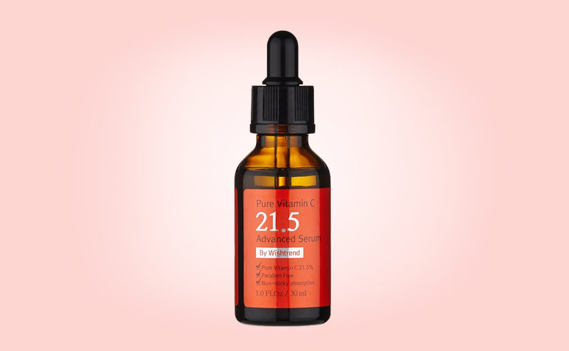 Buy Pure Vitamin C21.5 Advanced Serum By Wishtrend from Korea. Webshop Korean skin care K-beauty Europe