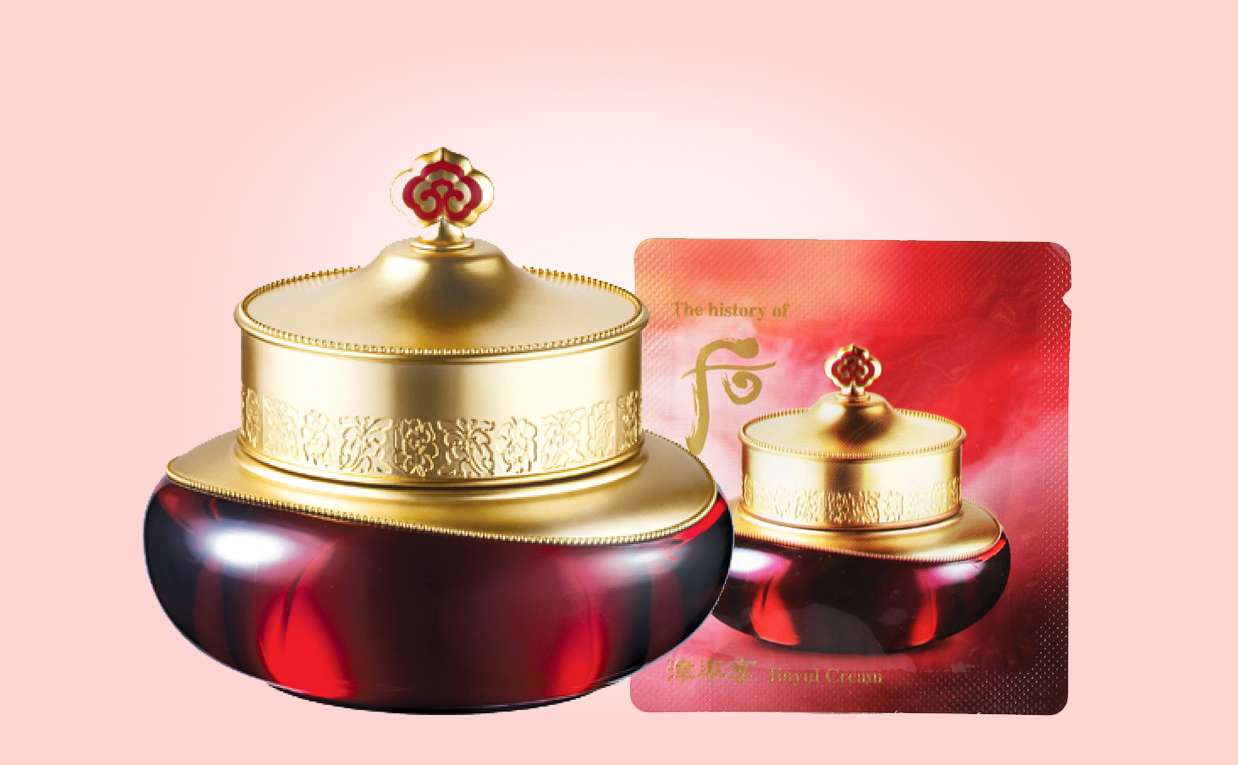 Buy The History of Whoo Jinyul Cream from Korea. Nourishing balm, anti-aging treating wrinkles, 50ml/12 euros always free shipping | K-beauty webshop Europe