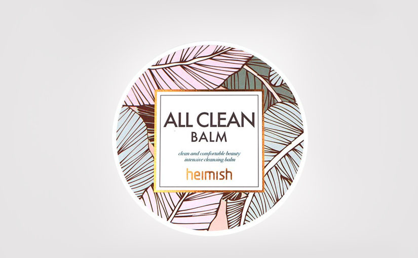 First impression review Heimish All Clean Balm cleansing balm from Korea. Korean skin care K-beauty Europe Blog