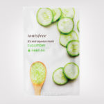 FIRST IMPRESSION: Innisfree It's Real Squeeze Mask Cucumber