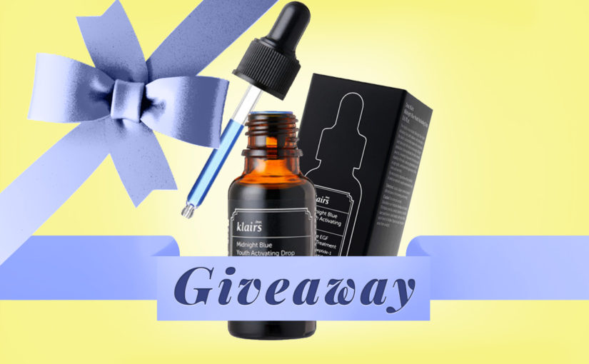 GIVEAWAY: Klairs Midnight Blue Youth Activating Drop Serum