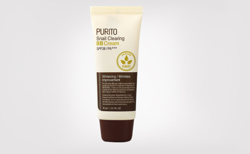 FIRST IMPRESSION: PURITO Snail Clearing BB Cream SPF 38/PA++