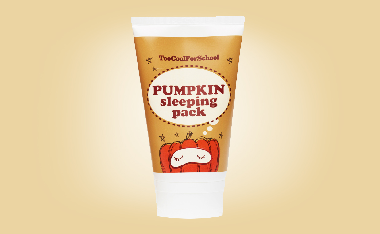 Buy Too Cool For School Pumpkin Sleeping Pack sleeping mask from Korea K-beauty webshop